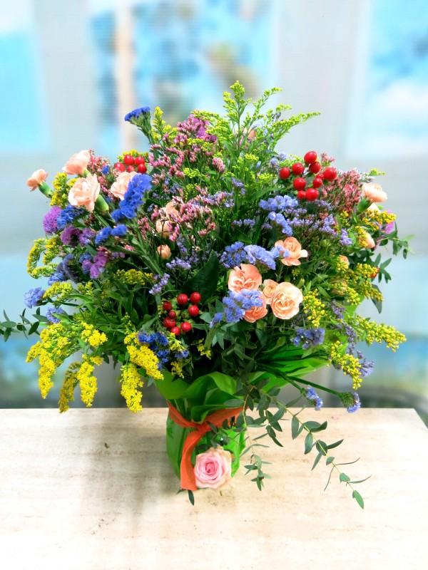 Vase with Varied Flower for Her - Foto 2