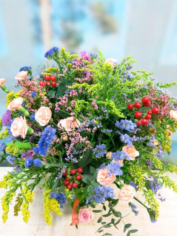 Vase with Varied Flower for Her - Foto 3