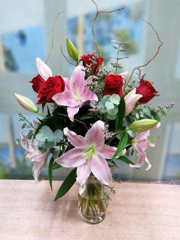 La pareja ideal: Lilium y Rosas - Foto 2