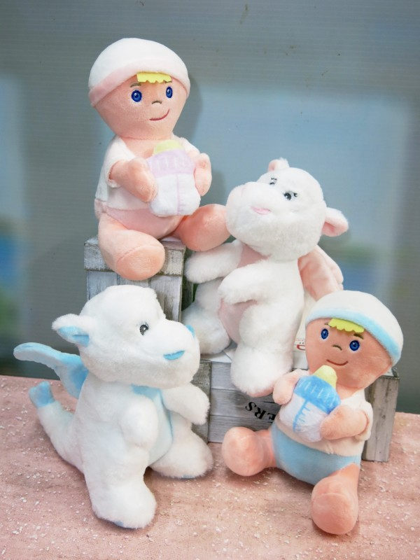 Soft toys for babies and to accompany your flore gifts - Foto principal