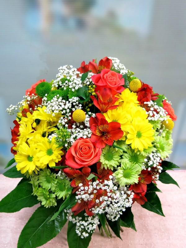 Ramo de flor variada de primavera - Foto 4