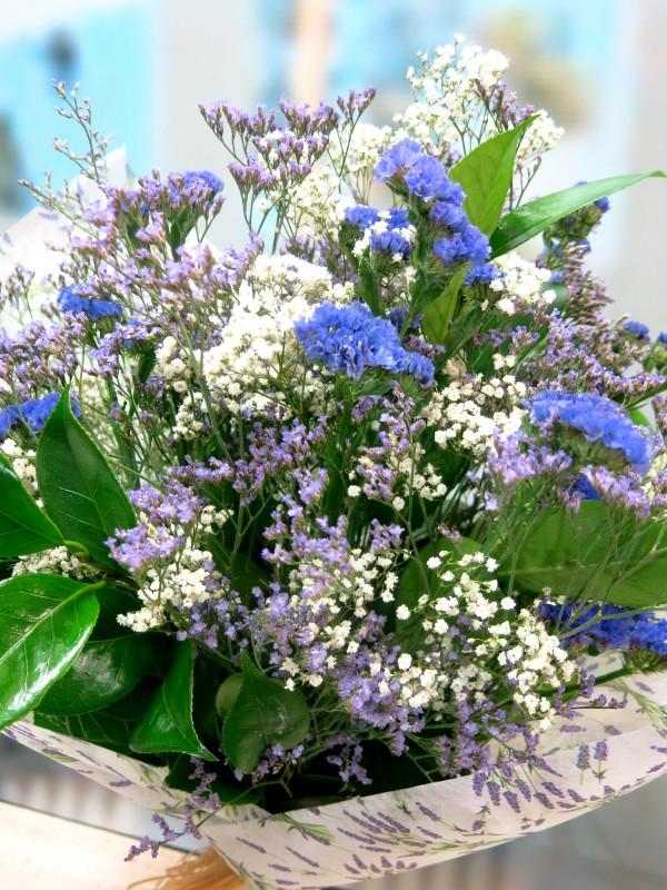 El ramo Vintage lila - Foto principal