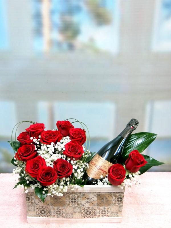 Feliz aniversario con Rosas y Cava - Foto principal