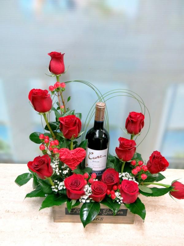Rosas y Vino para celebrar San Valentín - Foto 3
